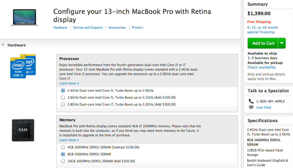 The equivalent 13-inch MacBook Pro for only $50 more.